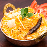 Хидерабади Чикен Бириани / Hyderabadi Chicken Biryani